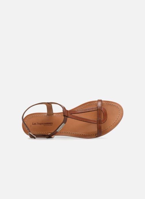 Sandales et nu-pieds Les Tropéziennes par M Belarbi Hamess Marron vue gauche