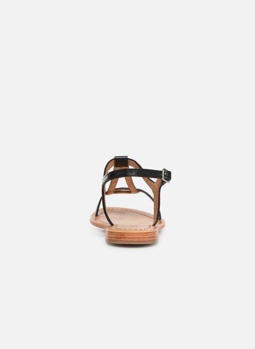 Sandales et nu-pieds Les Tropéziennes par M Belarbi Hamess Noir vue droite