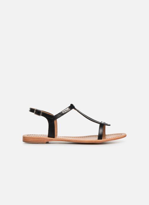 Sandales et nu-pieds Les Tropéziennes par M Belarbi Hamess Noir vue derrière