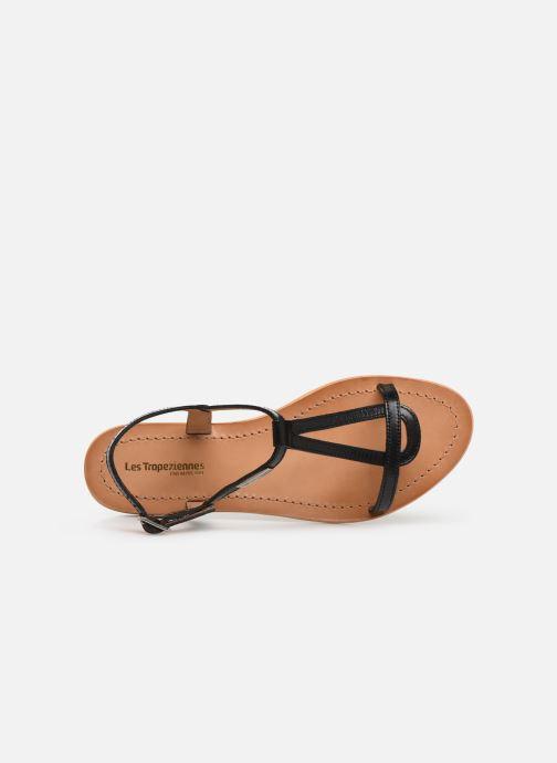 Sandales et nu-pieds Les Tropéziennes par M Belarbi Hamess Noir vue gauche