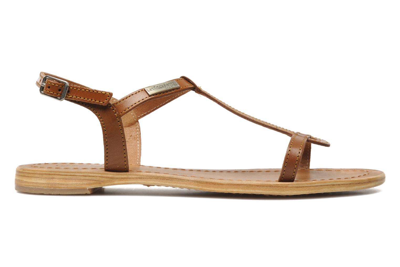Sandales et nu-pieds Les Tropéziennes par M Belarbi Hamess Marron vue derrière