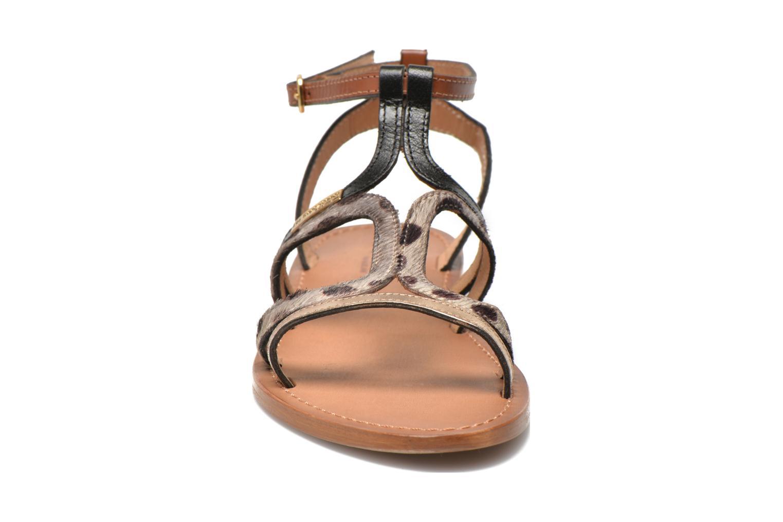 Sandals Les Tropéziennes par M Belarbi Hayate Bronze and Gold model view