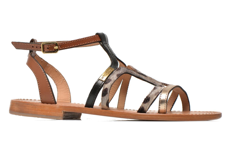 Sandals Les Tropéziennes par M Belarbi Hayate Bronze and Gold back view