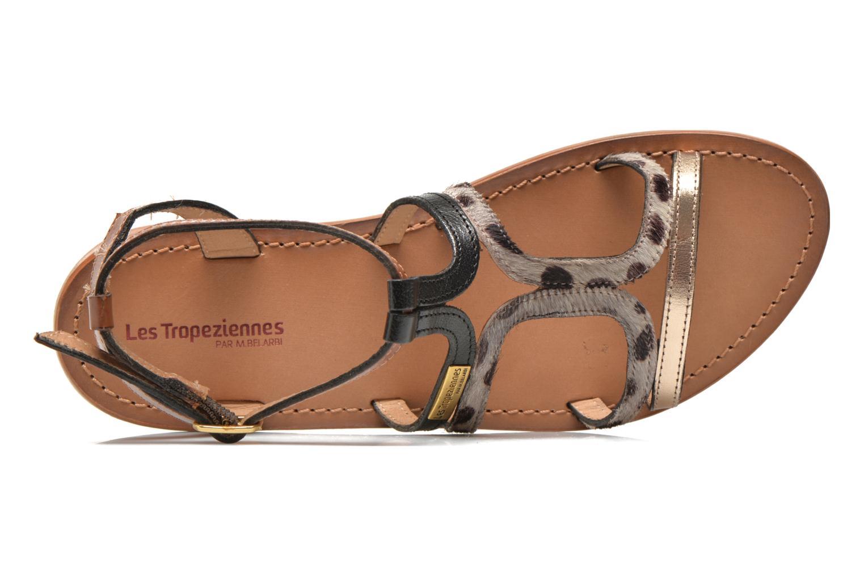 Sandals Les Tropéziennes par M Belarbi Hayate Bronze and Gold view from the left