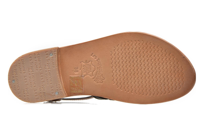 Sandals Les Tropéziennes par M Belarbi Hayate Bronze and Gold view from above