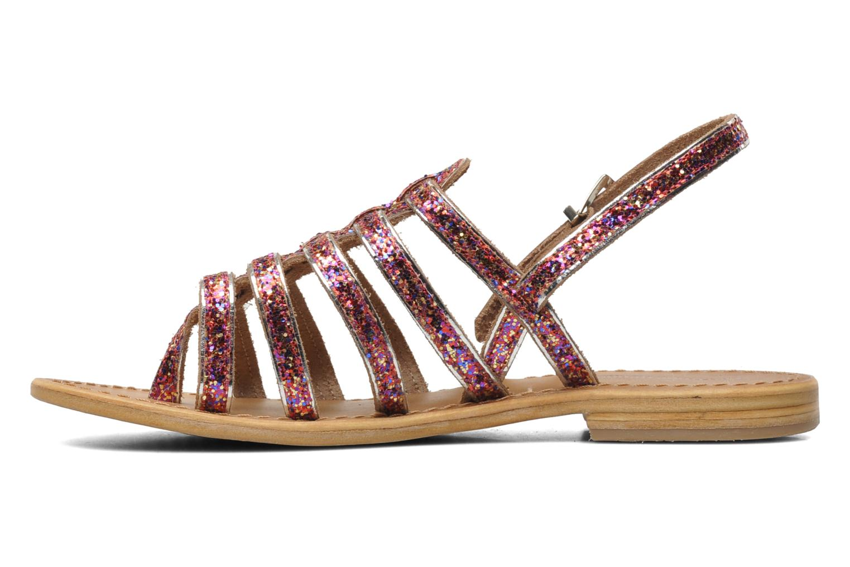 Sandales et nu-pieds Les Tropéziennes par M Belarbi Happy Rose vue face