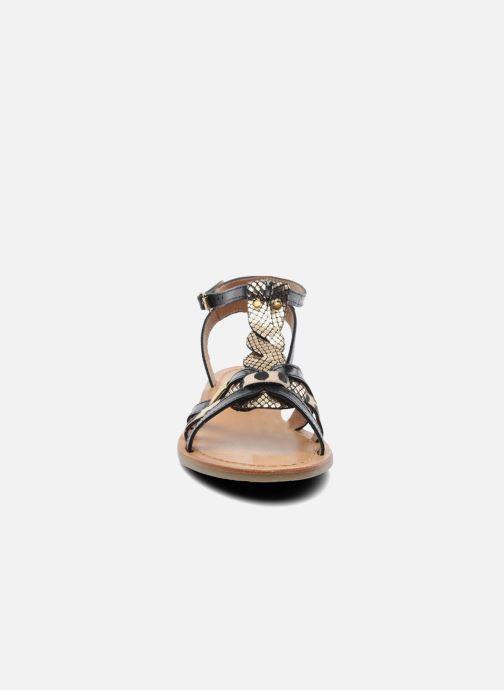 Sandales et nu-pieds Les Tropéziennes par M Belarbi Hams Noir vue portées chaussures