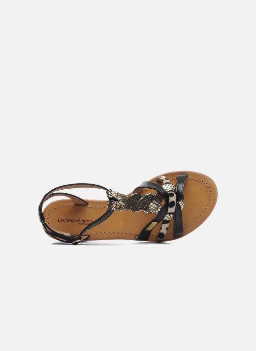 Sandales et nu-pieds Les Tropéziennes par M Belarbi Hams Noir vue gauche
