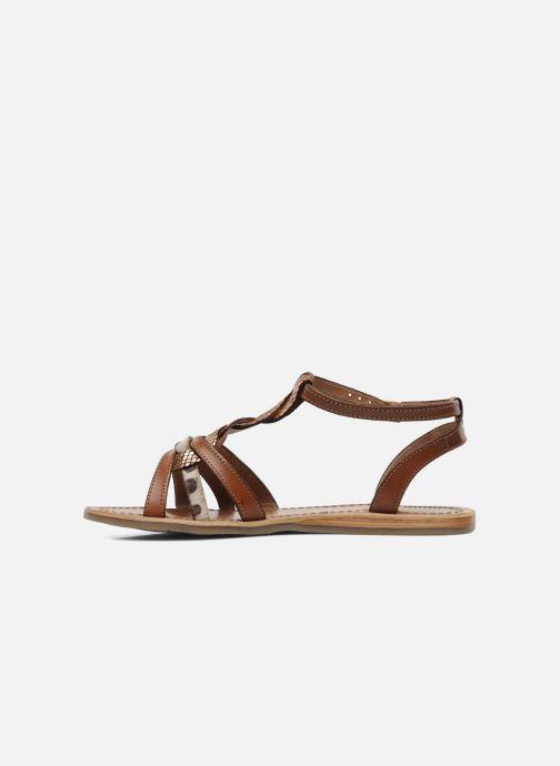 Sandales et nu-pieds Les Tropéziennes par M Belarbi Hams Marron vue face