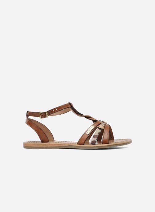 Sandales et nu-pieds Les Tropéziennes par M Belarbi Hams Marron vue derrière