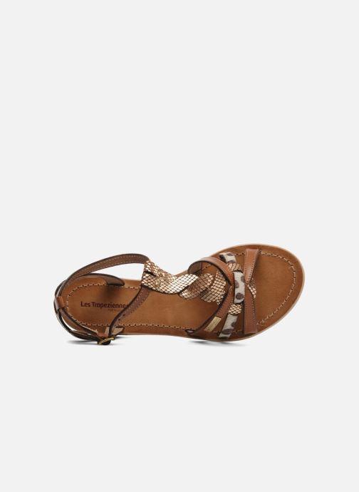 Sandales et nu-pieds Les Tropéziennes par M Belarbi Hams Marron vue gauche