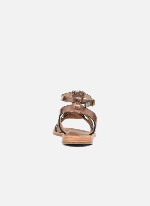 Sandaler Les Tropéziennes par M Belarbi Hams Guld og bronze Se fra højre