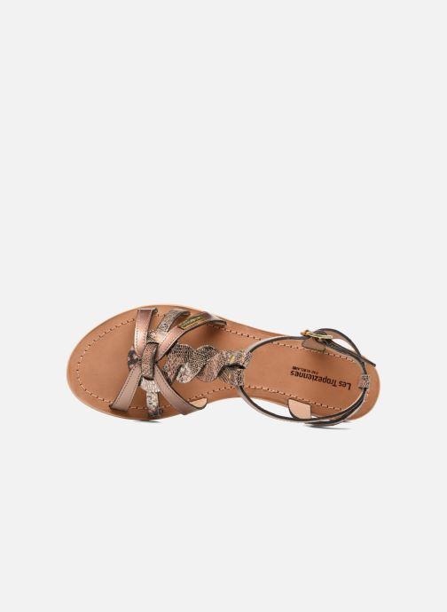 Sandaler Les Tropéziennes par M Belarbi Hams Guld og bronze se fra venstre