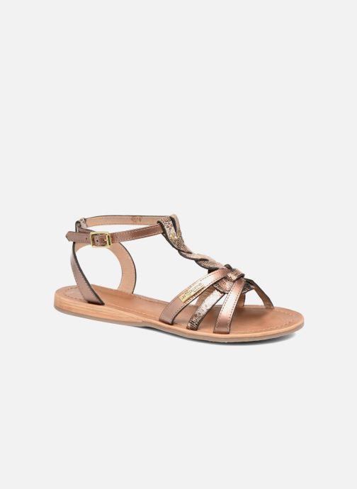 Sandaler Les Tropéziennes par M Belarbi Hams Guld og bronze detaljeret billede af skoene