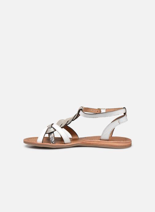 Sandales et nu-pieds Les Tropéziennes par M Belarbi Hams Blanc vue face