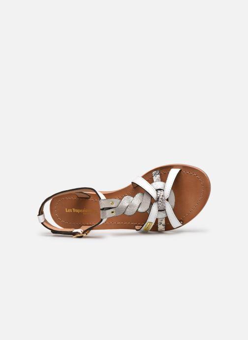 Sandales et nu-pieds Les Tropéziennes par M Belarbi Hams Blanc vue gauche
