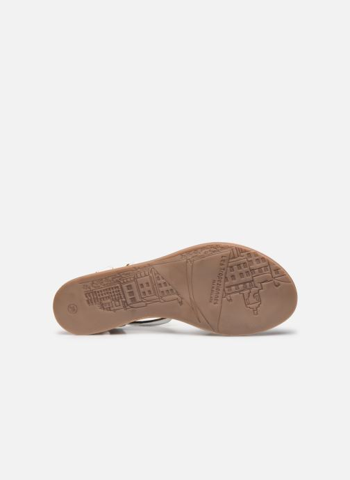 Sandales et nu-pieds Les Tropéziennes par M Belarbi Hams Blanc vue haut