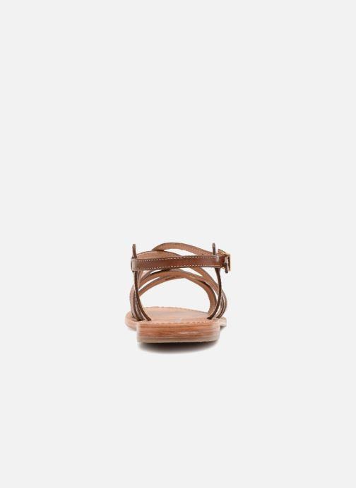 Sandalen Les Tropéziennes par M Belarbi Hapax braun ansicht von rechts