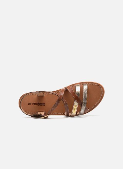 Sandales et nu-pieds Les Tropéziennes par M Belarbi Hapax Marron vue gauche