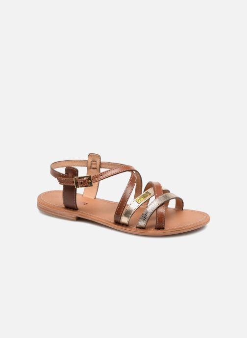 Sandaler Les Tropéziennes par M Belarbi Hapax Brun detaljeret billede af skoene
