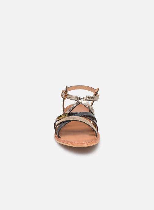 Sandales et nu-pieds Les Tropéziennes par M Belarbi Hapax Marron vue portées chaussures