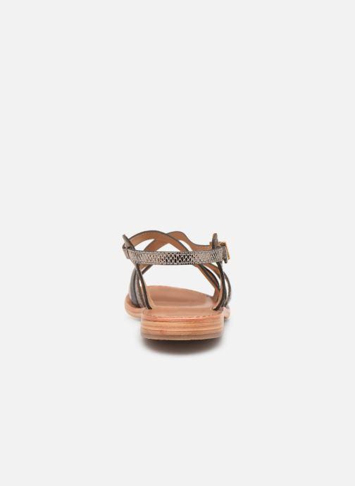 Sandalias Les Tropéziennes par M Belarbi Hapax Marrón vista lateral derecha
