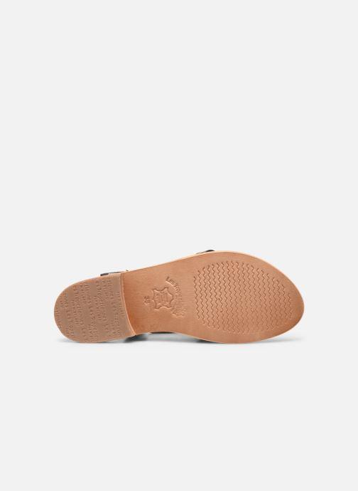 Sandales et nu-pieds Les Tropéziennes par M Belarbi Hapax Marron vue haut