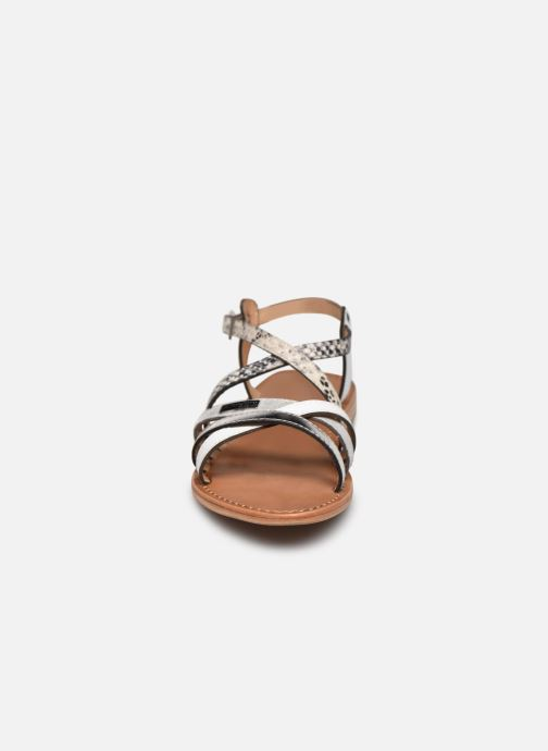Sandales et nu-pieds Les Tropéziennes par M Belarbi Hapax Blanc vue portées chaussures