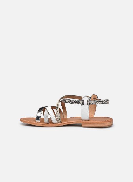 Sandales et nu-pieds Les Tropéziennes par M Belarbi Hapax Blanc vue face