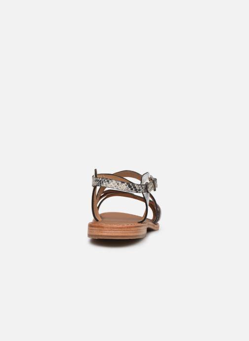 Sandalias Les Tropéziennes par M Belarbi Hapax Blanco vista lateral derecha