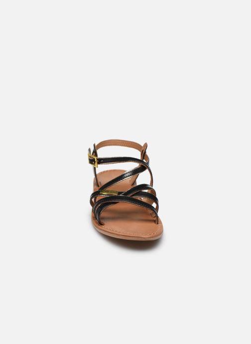 Sandales et nu-pieds Les Tropéziennes par M Belarbi Hapax Noir vue portées chaussures