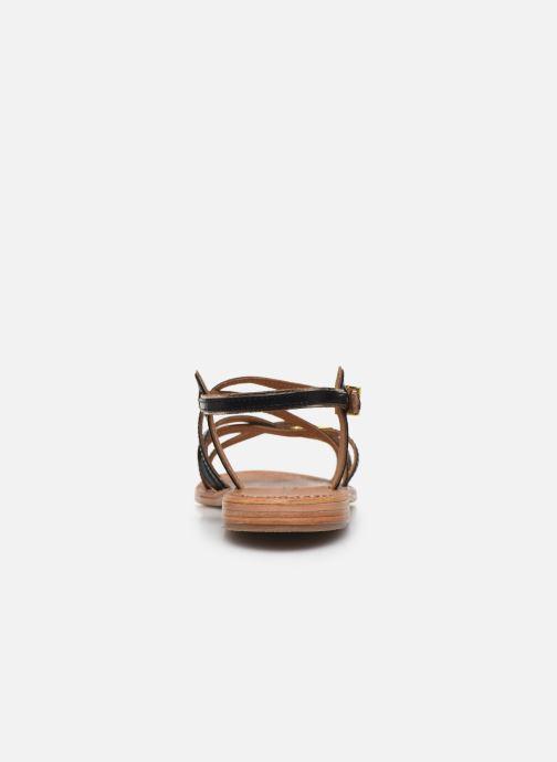Sandalias Les Tropéziennes par M Belarbi Hapax Negro vista lateral derecha