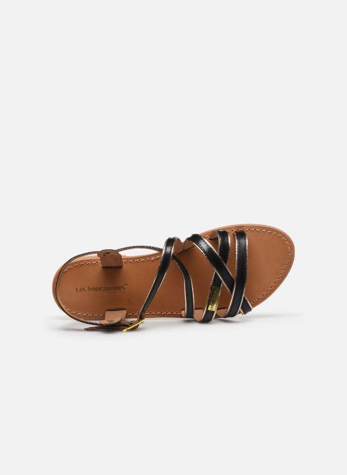 Sandales et nu-pieds Les Tropéziennes par M Belarbi Hapax Noir vue gauche