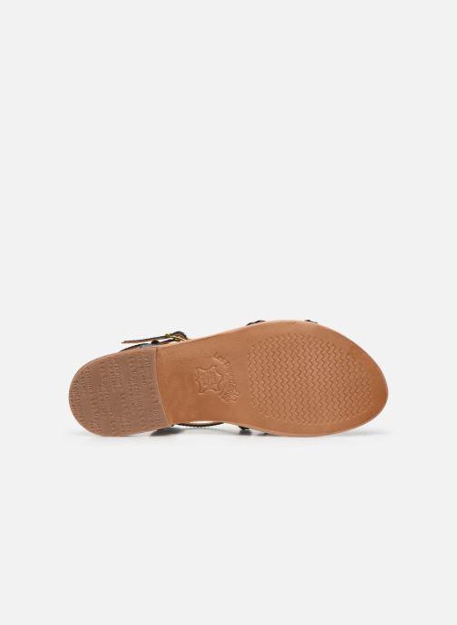 Sandales et nu-pieds Les Tropéziennes par M Belarbi Hapax Noir vue haut