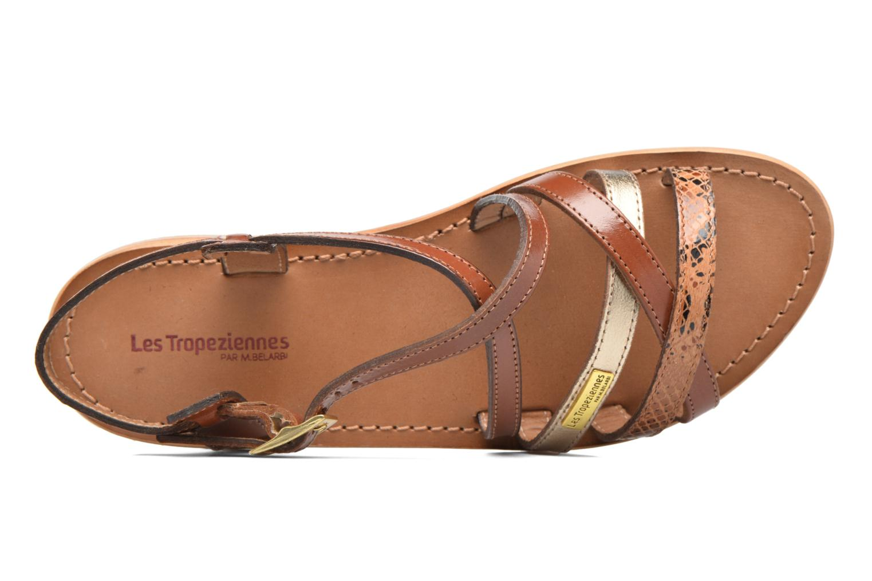 Sandals Les Tropéziennes par M Belarbi Hapax Brown view from the left