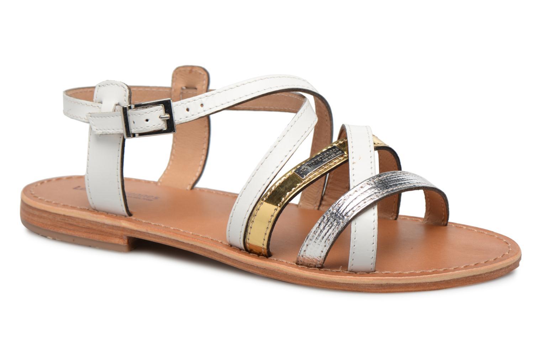 Sandales et nu-pieds Les Tropéziennes par M Belarbi Hapax Blanc vue détail/paire