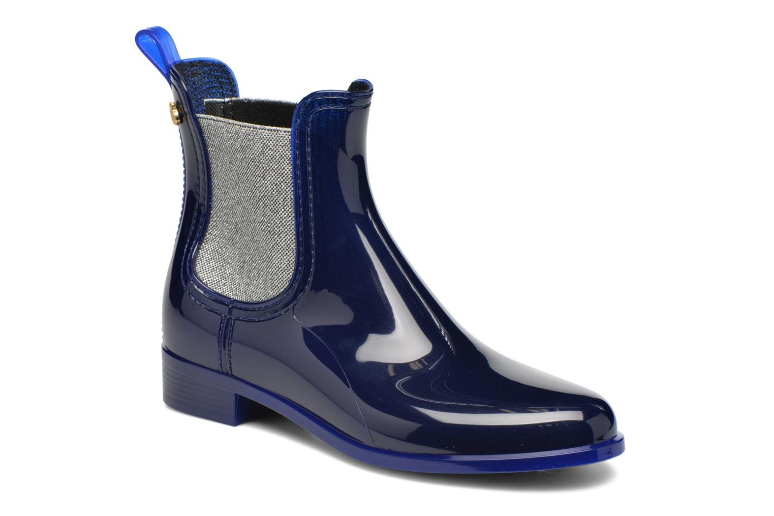 Ankle boots Lemon Jelly Pisa Blue detailed view/ Pair view