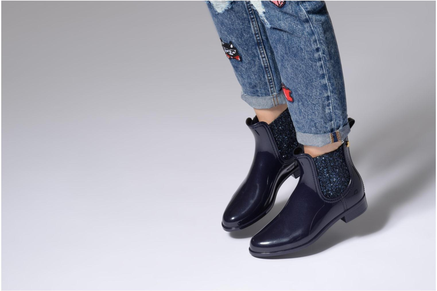 Ankle boots Lemon Jelly Sardenha Black view from underneath / model view