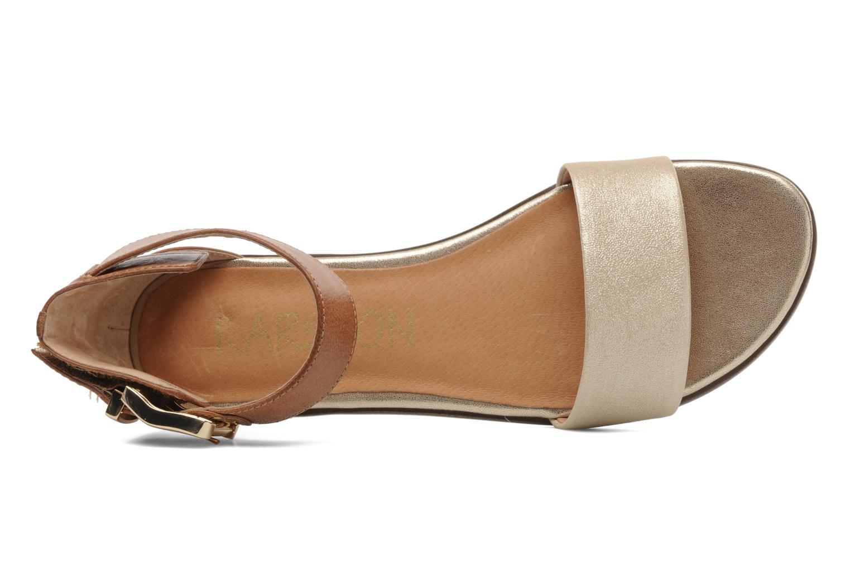 Sandales et nu-pieds Karston Soane Beige vue gauche