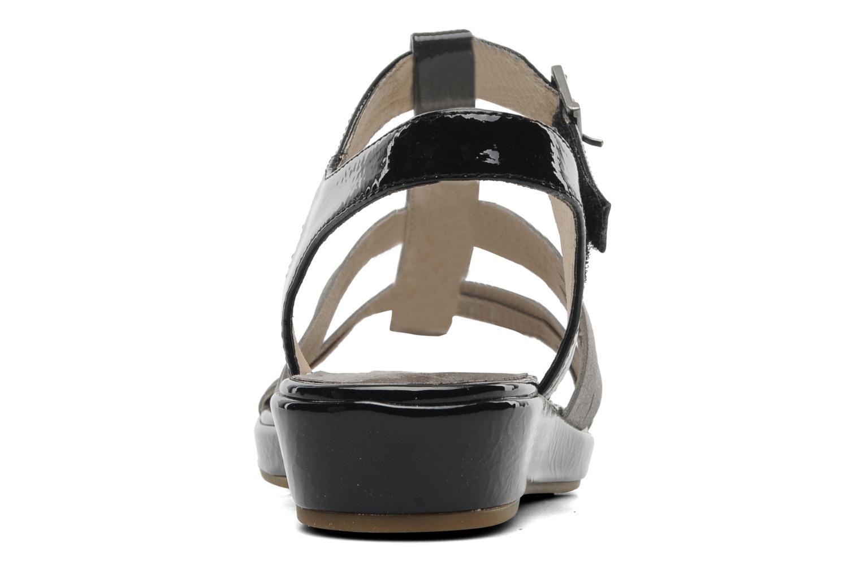 Sandales et nu-pieds Madison Enna Noir vue droite