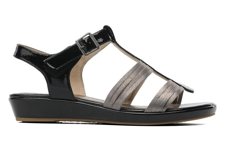 Sandales et nu-pieds Madison Enna Noir vue derrière