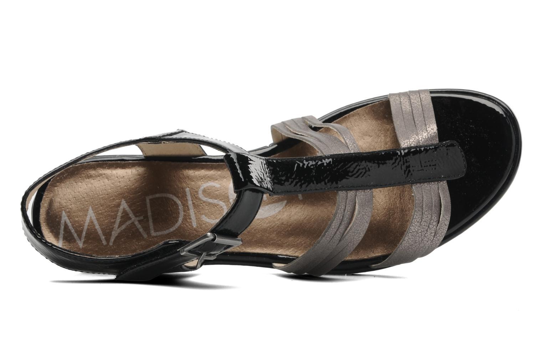 Sandales et nu-pieds Madison Enna Noir vue gauche