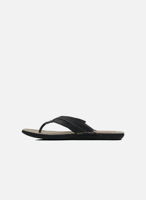Chanclas Kickers Spacy Negro vista de frente