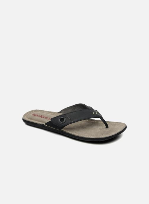 Chanclas Kickers Spacy Negro vista de detalle / par