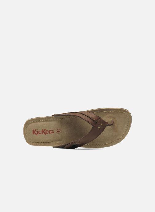 Kickers Spacy Chez 177869 marron Tongs qvwq10