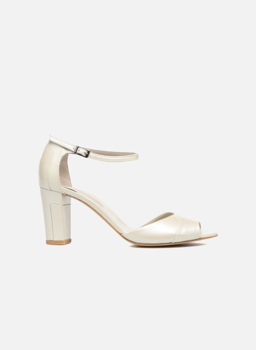Sandals Perlato Pone White back view