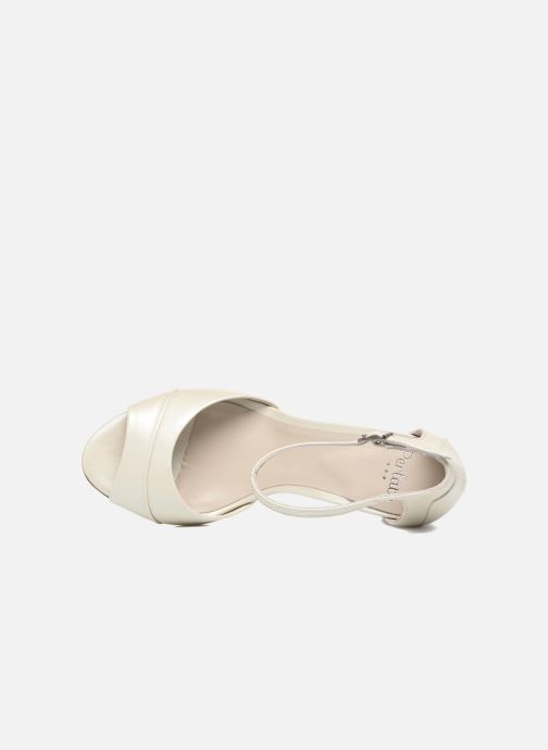 Sandales et nu-pieds Perlato Pone Blanc vue gauche