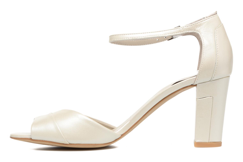 Sandali e scarpe aperte Perlato Pone Bianco immagine frontale