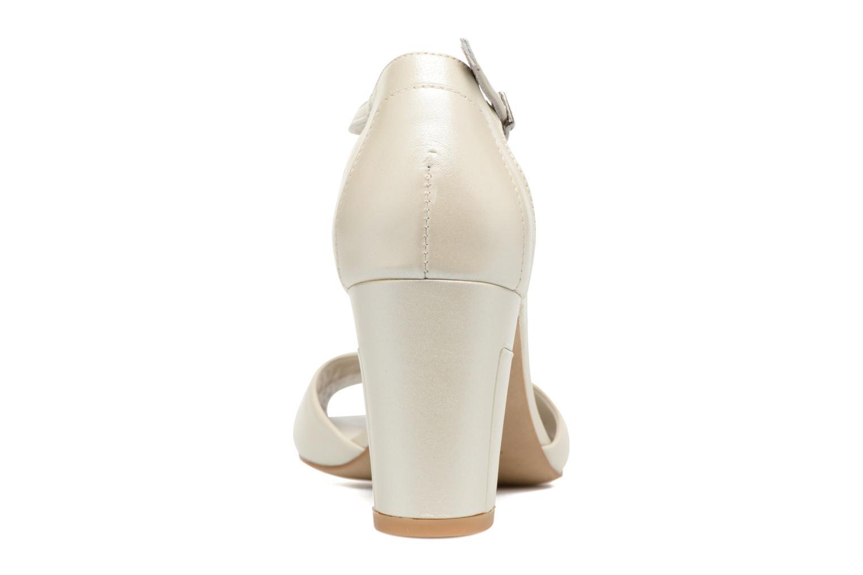 Sandali e scarpe aperte Perlato Pone Bianco immagine destra
