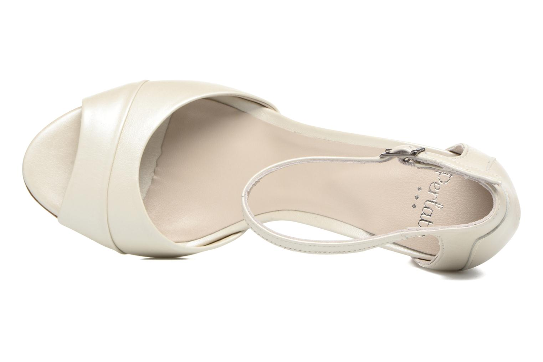 Sandali e scarpe aperte Perlato Pone Bianco immagine sinistra